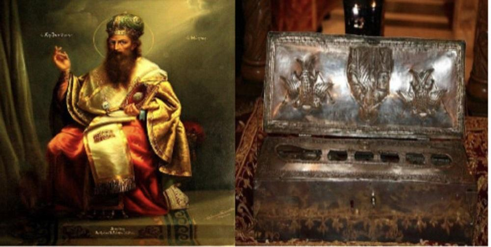 Στην Καλαμαριά  ιερό λείψανο του Αγίου Βασιλείου