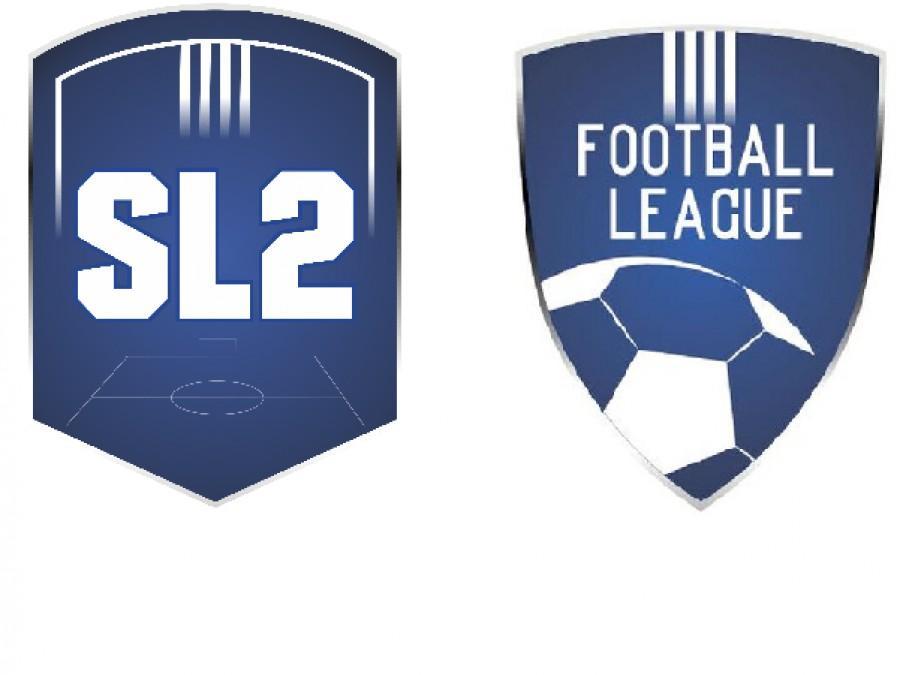 SL2 με 18  και FL με 16 ομάδες, ή συγχώνευση