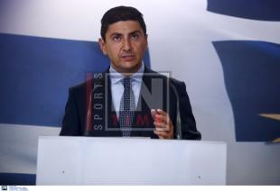 Αυγενάκης: «Να επιτραπεί άμεσα η διεξαγωγή των πρωταθλημάτων των εθνικών κατηγοριών»
