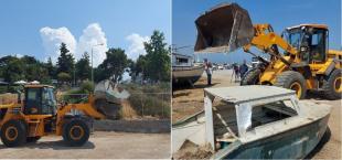 Αποσυμφόρηση στην παραλία Αρετσούς