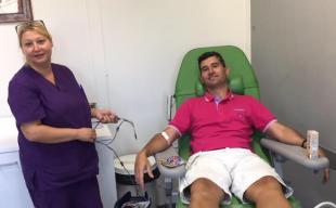 Τράπεζα αίματος από τους Παλαίμαχους