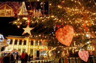 Χριστουγεννιάτικα δέντρα στις γειτονιές