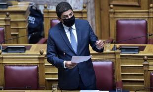 Τοποθέτηση  Αυγενάκη στην Βουλή  για την αναδιάρθρωση (vid)